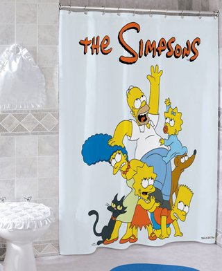 Cortina de baño The Simpsons - Eufan! Objetos Fabulosos