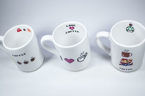 Taza Fun Cup Serie Games