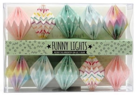 Guirnalda luminosa - Origami - funny lights