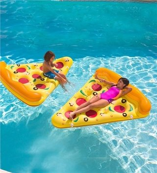 inflable pizza