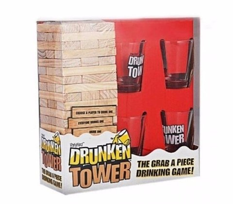 Jenga Shot Tequila - Drunken Tower