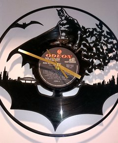 Reloj de Pared Vinilo Batman