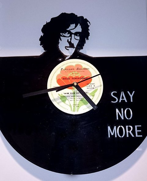 Reloj de Pared Vinilo Charly