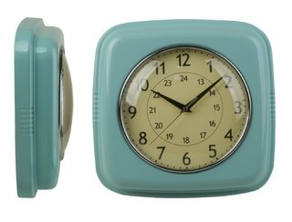 Reloj de pared retro