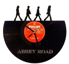 Reloj de Pared Vinilo Abbey Road