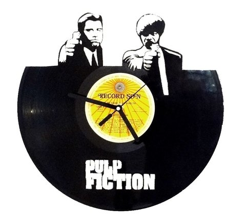 Reloj de Pared Vinilo Pulp Fiction - comprar online