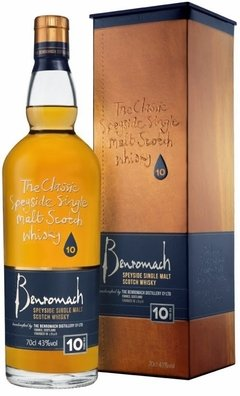 Whisky Single Malt Benromach 10 Años 700ml Origen Escocia.