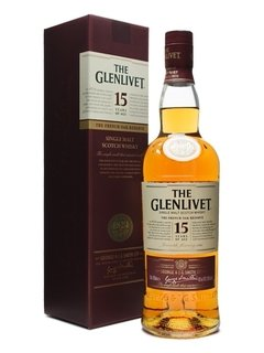 Whisky Single Malt The Glenlivet 15 Años French Oak Reserve.