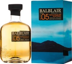 Whisky Single Malt Balblair Vintage 2005 11 Años 46% abv.