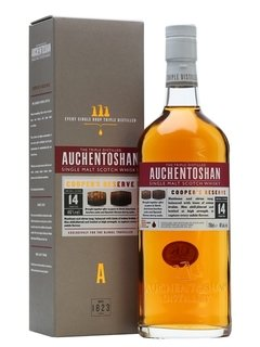 Whisky Single Malt Auchentoshan 14 Años, Coopers Reserve.