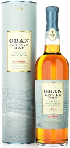 Whisky Single Malt Oban Little Bay Small Cask Origen Escocia.