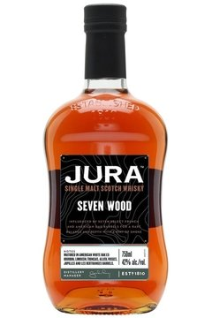 Whisky Jura Seven Wood Madurado En 7 Tipos Distinto De Roble. en internet