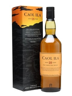 Whisky Single Malt Caol Ila 18 Años 750ml Origen Escocia.