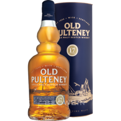Whisky Single Malt Old Pulteney 17 Años Origen Escocia.