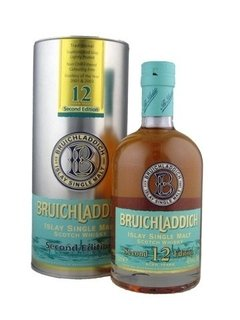 Whisky Single Malt Bruichladdich Second Edition 12 Años.
