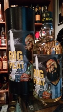 Whisky Douglas Laing´s Big Peat Blended Malt Small Batch Edición Argentina. - comprar online