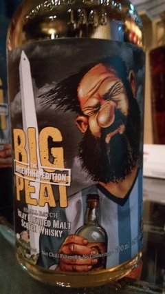 Whisky Douglas Laing´s Big Peat Blended Malt Small Batch Edición Argentina. en internet