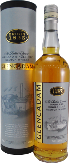 Whisky Single Malt Glencadam Origin 1825 40% Origen Escocia.