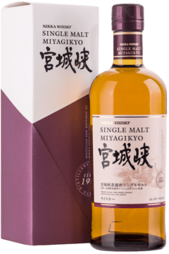 Whisky Japonés Single Malt Nikka Miyagikyo 750ml.