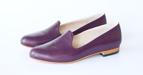 Slipers violeta