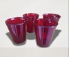 SET MINI VASOS GLOSS X4 FACETADOS