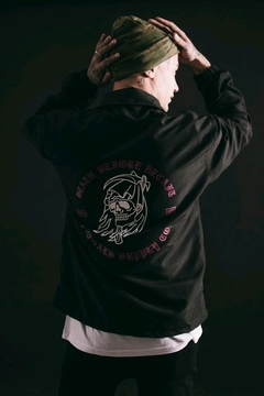 Rompevientos Coach Jacket Rituals Death Before (Último XL) - SamoaShop