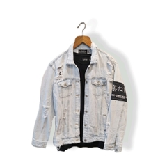 Campera de Jean con Roturas Urban Hype