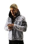 Campera de Jean con Roturas Urban Hype - SamoaShop