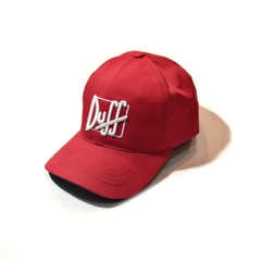 Gorra Polo Regulable Duff roja