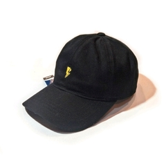 Gorra Polo Regulable negra Rayo