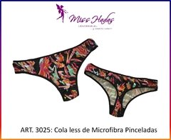 ART. 3025: Cola Less Microfibra Pinceladas