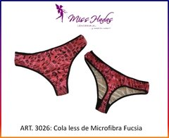 ART. 3026: Cola Less de Microfifra Estampada