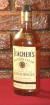 SCOTCH WHISKY TEACHER'S HIGHLAND CREAM ESCOCES AUTENTICO IMPORTADO