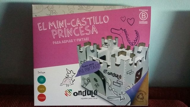 Mini Castillo Princesa