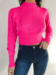 SWEATER JANICE FUXIA - comprar online