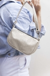 MINI BAG CROCCO MEL B. BEIGE (VEGAN)