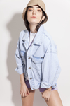 CAMPERA KWN DENIM RETRO OVER