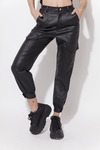 PANT LEATHER CARGO