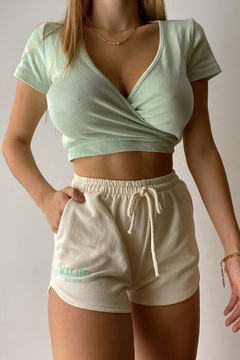 TOP BELLY VERDE - comprar online