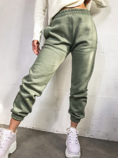 JOGGER KWN SPICE FRIZZA OVER VERDE