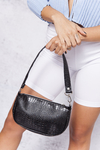 MINI BAG CROCCO MEL B. NEGRA (VEGAN)