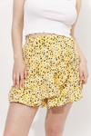SKORT OHIO AMARILLO