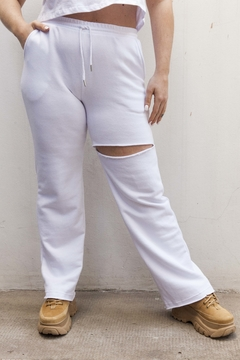 PANT CHILL BLANCO - comprar online