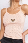 TOP BUTTERFLY JASPEADO CORAL