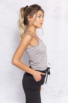 TOP BUTTERFLY JASPEADO GRIS en internet