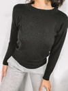 SWEATER KWN BASIC NEGRO