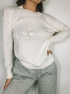 SWEATER KWN BASIC NATURAL