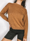 SWEATER KWN BASIC CAMEL