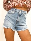 SHORT DENIM CLEAR DESFLECADO