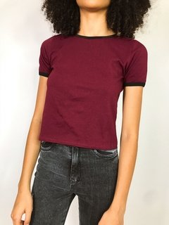 REME BASIC COLLARETA BORDEAUX